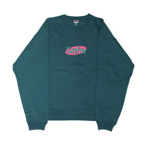 Care Free - Logo Sweatshirt - Jasper Green