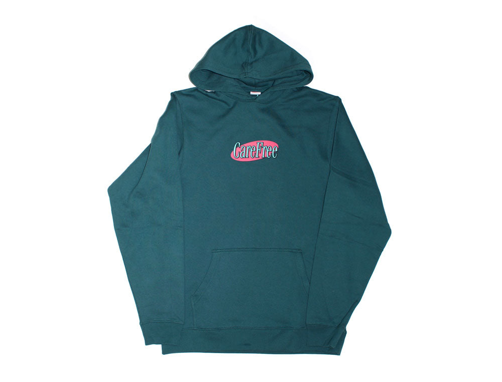 Care Free - Care Free - Logo Hooded Sweater - Jasper Green