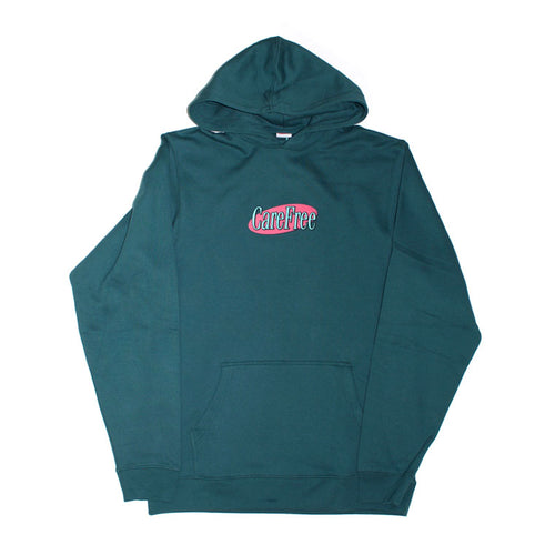 Care Free - Logo Hooded Sweater - Jasper Green