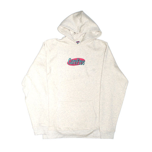 Care Free - Logo Hooded Sweater - Oatmeal