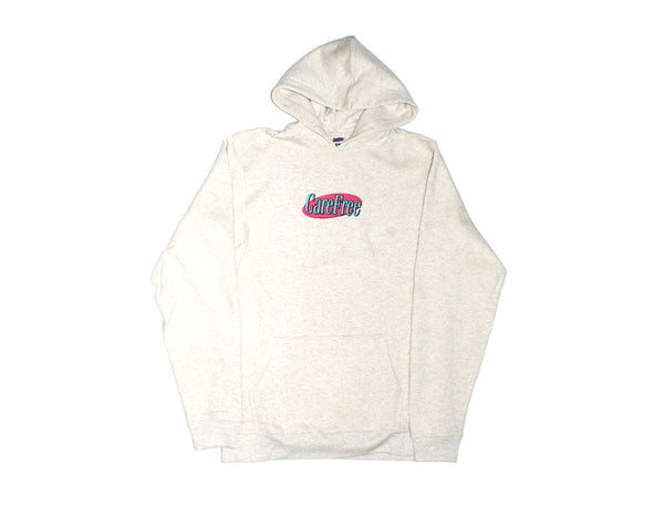Care Free - Care Free - Logo Hooded Sweater - Oatmeal