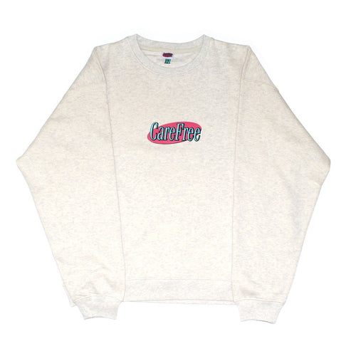 Care Free - Logo Sweatshirt - Oatmeal