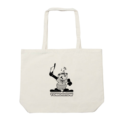 "Tomorrow - ""MUSIC OF MY MIND""  - Natural Tote"