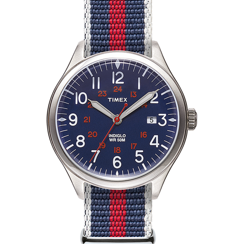 Timex Waterbury United 38mm Watch - Blue
