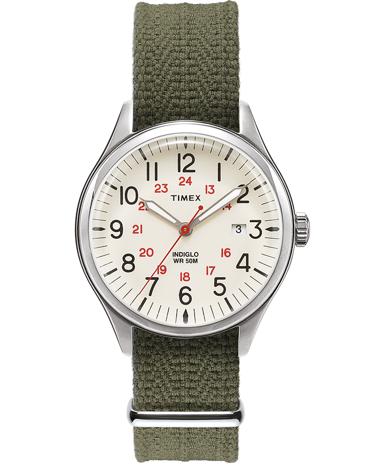 Timex - Timex Waterbury United 38mm Watch - Green