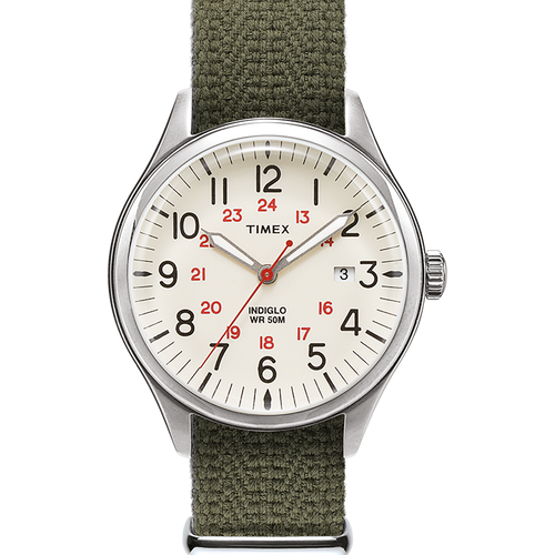 Timex Waterbury United 38mm Watch - Green