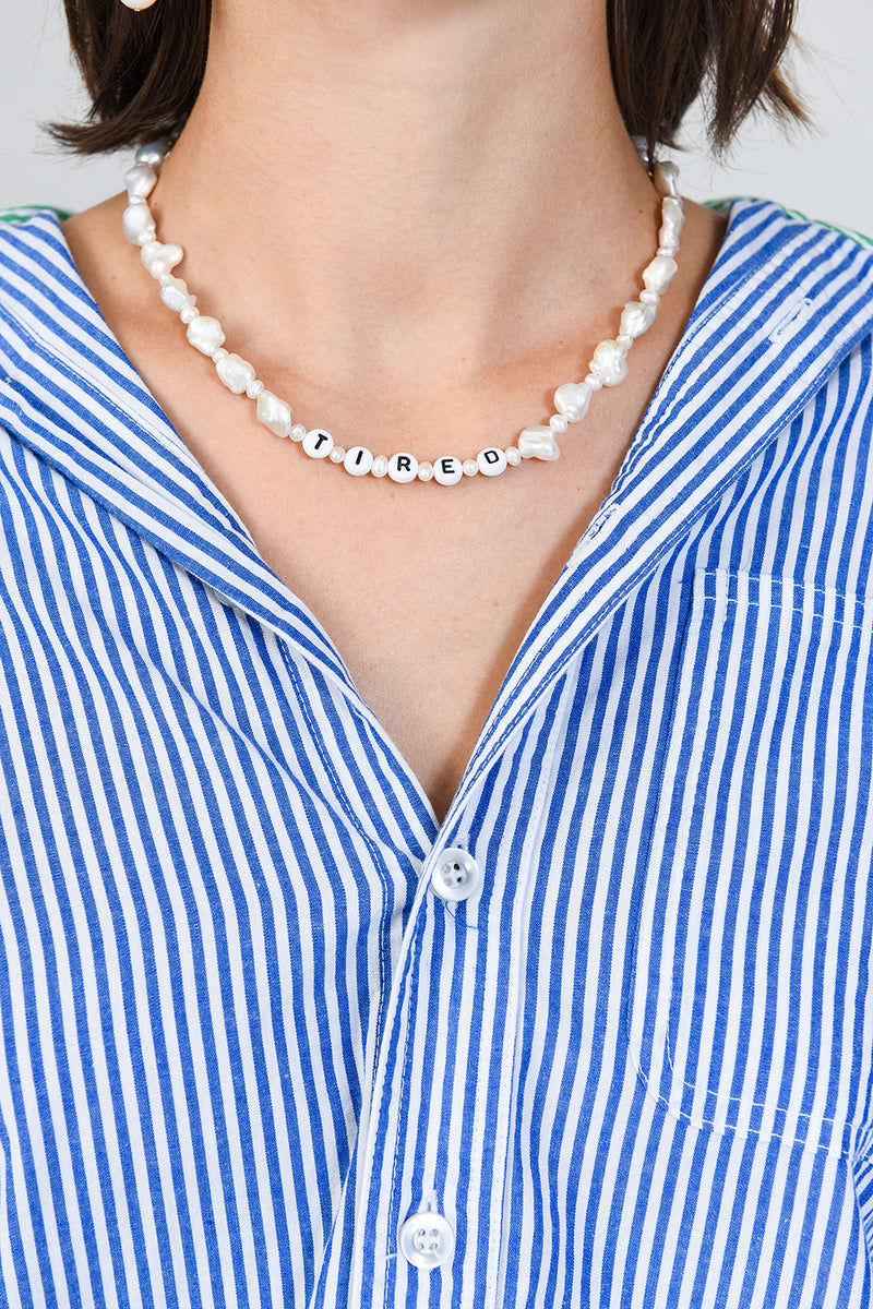 All the Feels Pearl Necklace