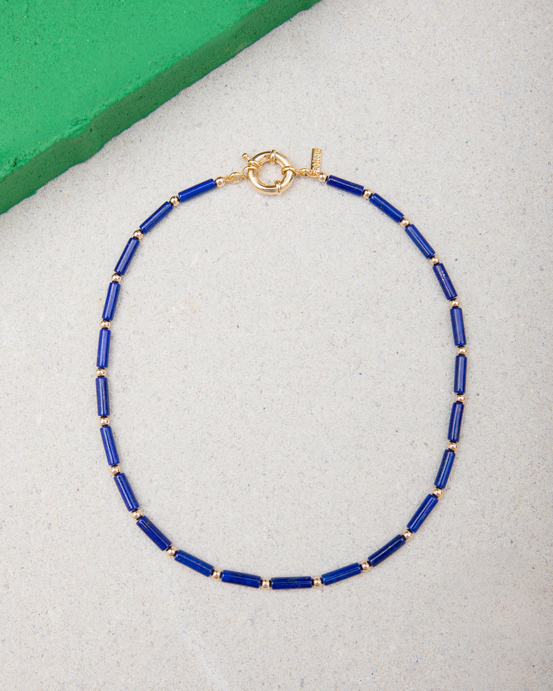 "Erec ""Lapis"" Necklace"