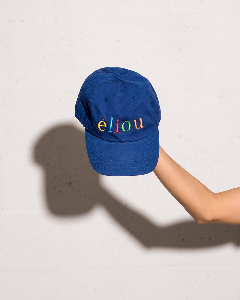 Logo Dad Cap Royal Blue