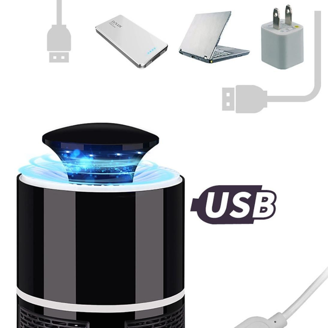 🔥 USB Mosquito Killer Lamp (BUY 2 FREE SHIPPING)