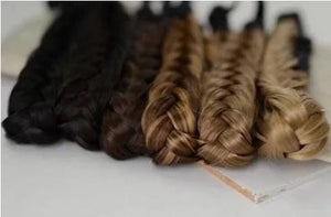 hand braided color blended hair band🔥Last day promotion