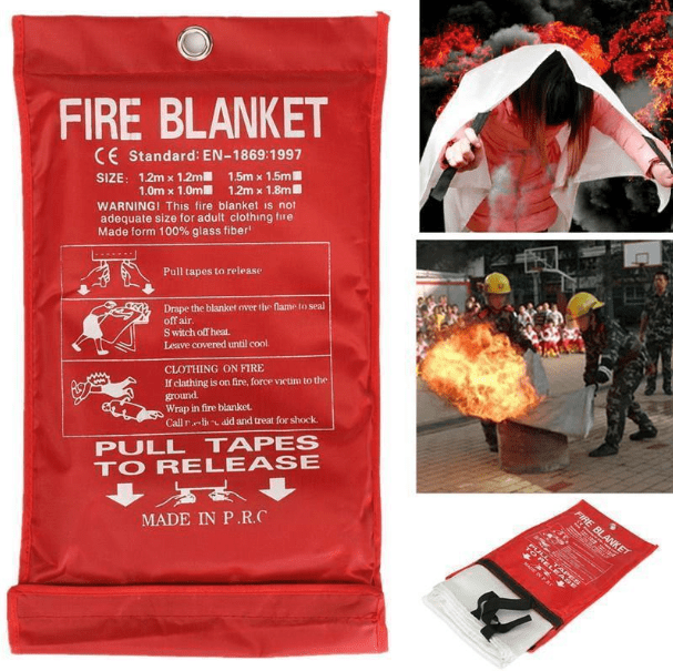 Fire Emergency Blanket-You Won't Regret Getting!