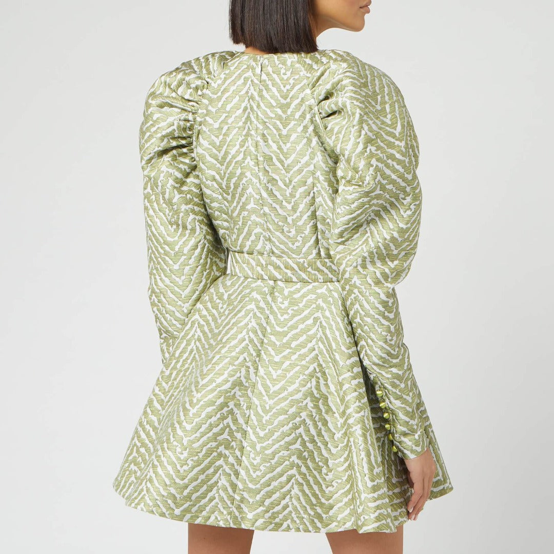 Tara Jacquard Dress by ROTATE