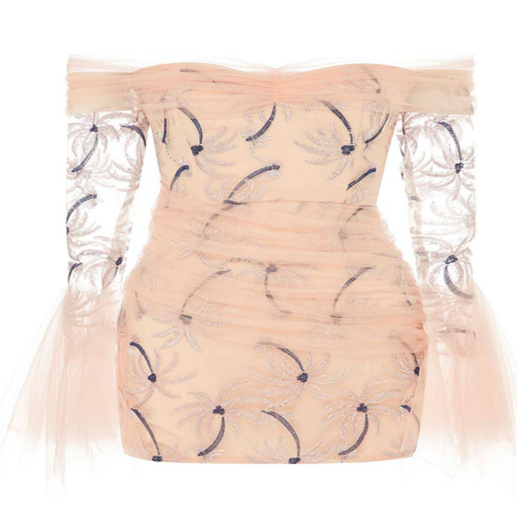 Tulle Sleeve Dress by Alice McCall