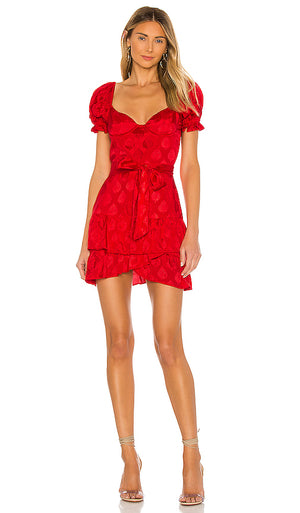 Red Silk Mini by MAJORELLE