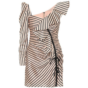 Stripe Flounce Mini by Self Portrait