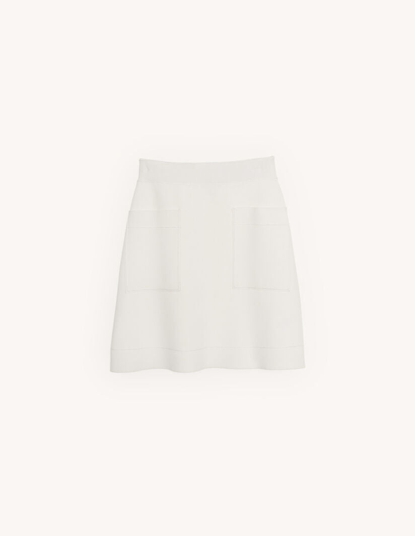 White Knit Co-Ord by Sandro