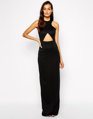 Cut Out Maxi Dress by AQ/AQ