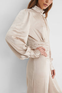 The Eve Satin Jumpsuit