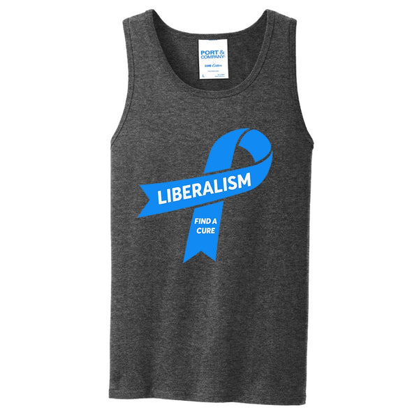 Liberalism (Find a Cure) - Port & Company Core Cotton Tank Top