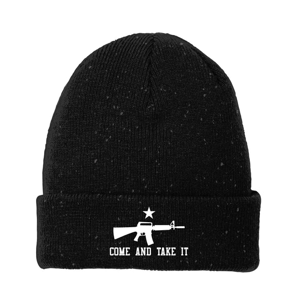 Come & Take It - New Era Speckled Beanie