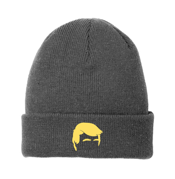 Trump Hair - New Era Speckled Beanie