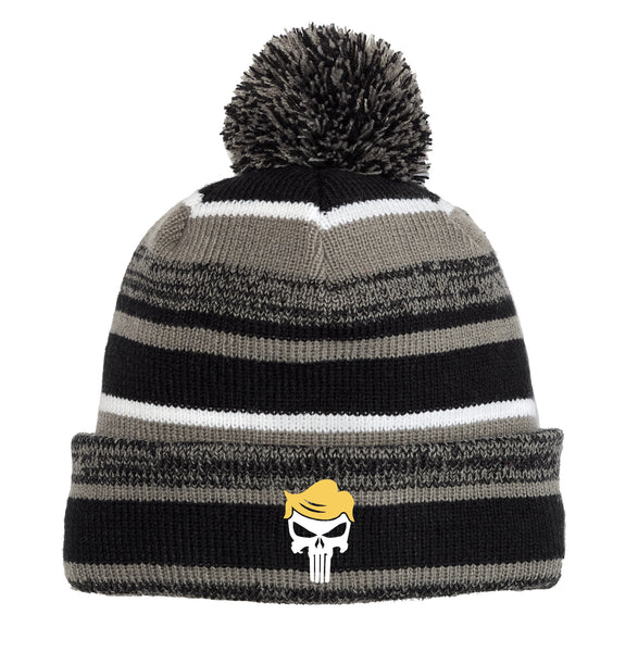 Trump Skull - New Era Sideline Beanie