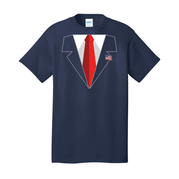Trump Suit - Port & Company Core Cotton Tee