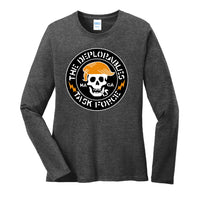 The Deplorables Task Force - Port & Company Ladies Long Sleeve Core Cotton Tee