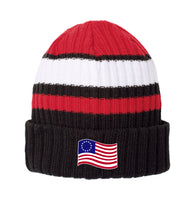 Old Glory - New Era Ribbed Tailgate Beanie