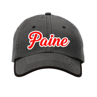 Paine - Port Authority Vintage Washed Contrast Stitch Unstructured Cap