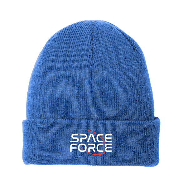 Space Force - New Era Speckled Beanie