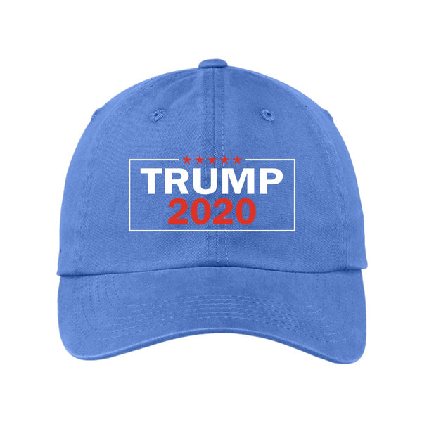 Trump 2020 2.0 - Port Authority Garment Washed Unstructured Cap