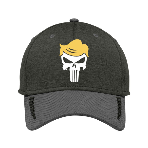 Trump Skull - New Era Shadow Stretch Heather Colorblock Cap