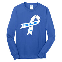 Liberalism (Find a Cure) - Port & Company Long Sleeve Core Cotton Tee