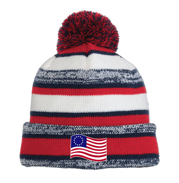 Old Glory - New Era Sideline Beanie