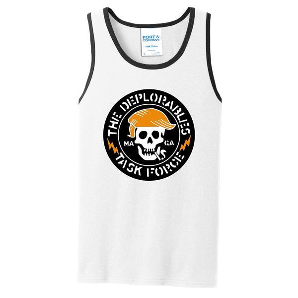 The Deplorables Task Force - Port & Company Core Cotton Tank Top