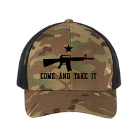 Come & Take It - Sport-Tek Retro Trucker Cap