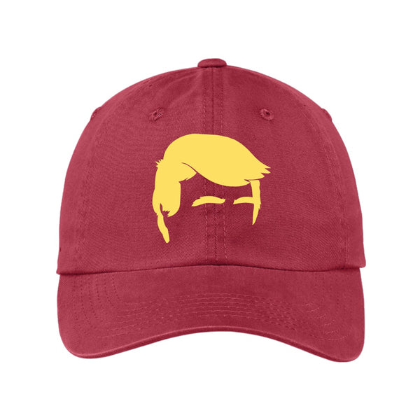 Trump Hair - Port Authority Garment Washed Unstructured Cap