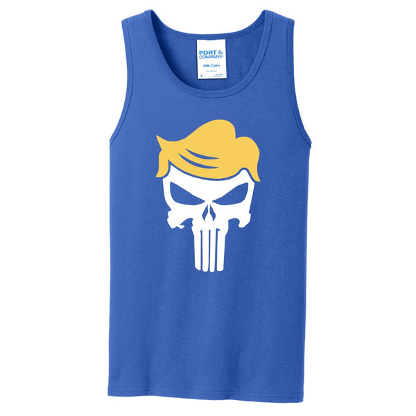 Trump Skull - Port & Company Core Cotton Tank Top