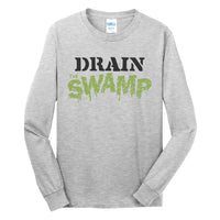 Drain the Swamp - Port & Company Long Sleeve Core Cotton Tee