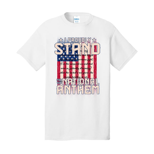I Proudly Stand - Core Cotton Tee
