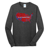 Impeach This - Port & Company Long Sleeve Core Cotton Tee