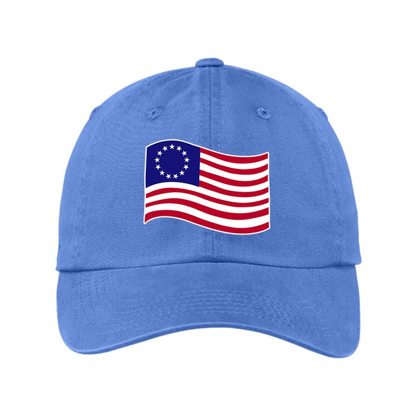 Old Glory - Garment Washed Unstructured Cap