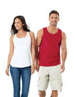 Santa Paine - Port & Company Ladies Core Cotton Tank Top