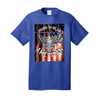 Proud To Be An American - Core Cotton Tee