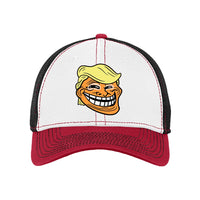 Trump Troll - New Era Stretch Mesh Contrast Stitch Cap