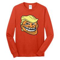 Trump Troll - Port & Company Long Sleeve Core Cotton Tee
