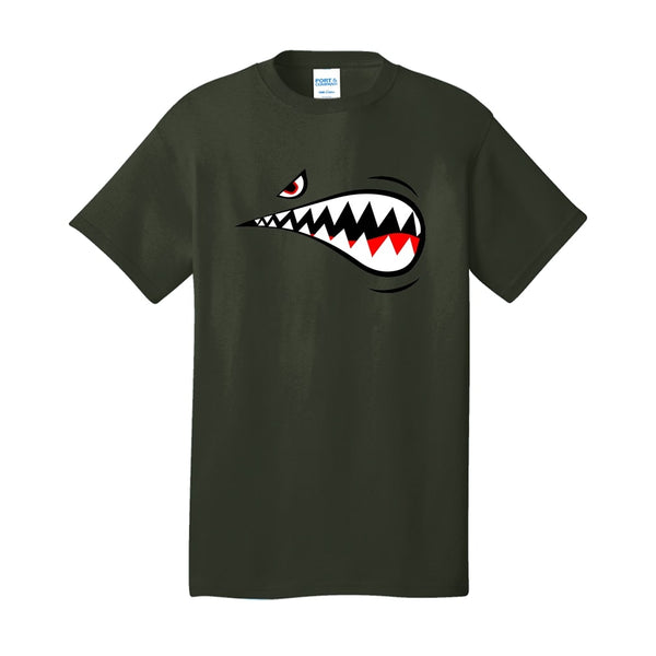 Air Force Shark - Core Cotton Tee