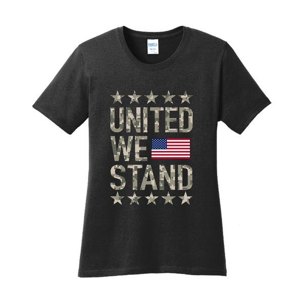 United We Stand - Ladies Core Cotton Tee